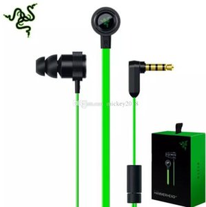 Razer Hammerhead Pro V2 أذن في سماعة أذن مع ميكروفون مع صندوق البيع بالتجزئة في الأذن سماعات الألعاب HiFI جودة الصوت