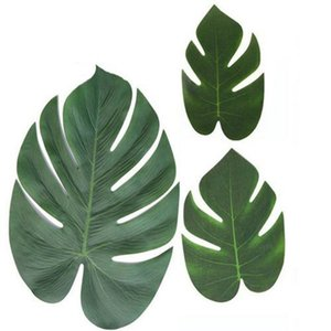 2016 3 Artificial Plant Monstera Leaves With Stems Tropical Palm 3 Best Inexpensive Amazing Canada 3 Artificial home2010 KkNPi