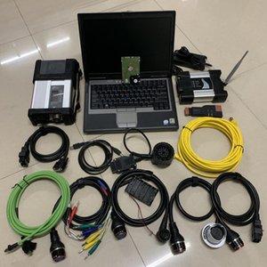La nave libre D630 Laptop 2019 09V 2en1 Soft-ware 1 TB SSD / HDD + SD conecta C5 MB de inicio 5 Icom Wifi siguiente para la herramienta de diagnóstico del coche de BMW