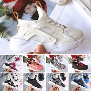 Nike air huarache Новорожденный Huarache Run 4 BABY Дети кроссовки Мальчики Девочки Air Mesh Кроссовки Спортивный Младенец Образ жизни Малыша Дети Новорожденные Повседневная обувь