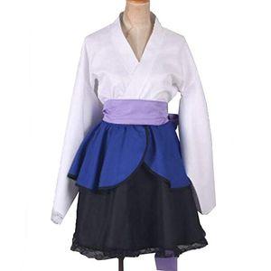 Наруто Косплей Костюм Узумаки Наруто Лолита Учиха Саске Кимоно Платье Custom