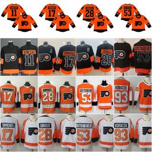 79 Carter Hart Philadelphia Flyers 2019 Stadium Series Jersey 28 Claude Giroux 17 Wayne Simmonds 11 Travis Konecny 9 Ivan Provoradoov