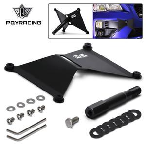 PQY RACING - 2015-17 WRX / STI PQY-LPF51 için Alüminyum Ön Plaka Tutucu Yer Değiştirme Seti