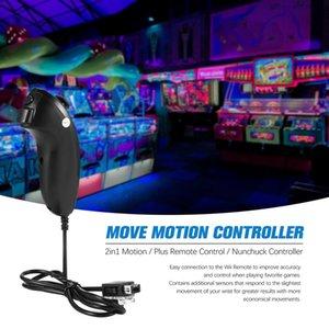 jeu en gros pour Nintendo Déplacer contrôleur de navigation Motion Controller Poignée 2in1 Motion Plus Télécommande + Nunchuck