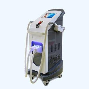 Double pièce à main verticale IPL SHR Machine YAG deux poignées équipement de beauté avec machine beauté livraison gratuite haut de gamme dans le prix d'usine