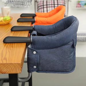 Alimentazione del bambino alta sedia Chair portatile Per bambini Cinque-punto cintura di sicurezza Sala Bambino Hook-on Seat Cover Bambini Mangiare