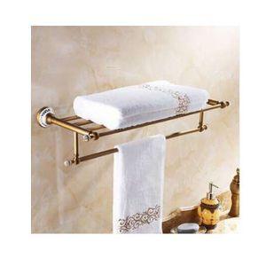 Luxus handtuch regal golden 50 cm bad handtuchhalter halter hohe qualität goldenen finish bad towel regale bar bad regal