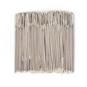 Aiguilles de point de croix de broderie de tissu de queue d'or de taille 24 pour le kit 200Pcs / lot de couture de toile de point