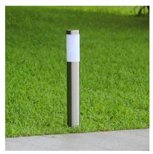 Lámpara de césped exterior LED IP65 impermeable 12V 110V 220V E27 Jardín Luces de acero inoxidable Luces de patio Lámpara de paisaje