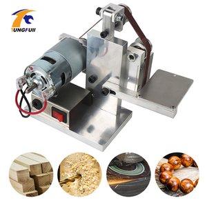 Multifunktionale Grinder Mini Electric Bandschleifmaschine Maschine Elektrische Winkelschleifer Schleifen Poliermaschine Desktop-