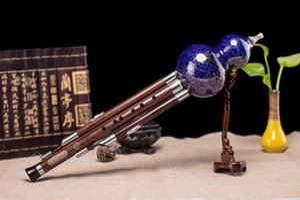 Nueva Clave C Hulusi tradicional china hecha a mano étnico flauta instrumento de instrument musical