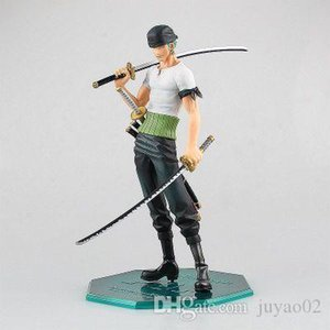 Anime One Piece Action Figure 10th Anniversary Edition Pop Zoro Squisito Boxed figura modello Decorazione della bambola giocattolo