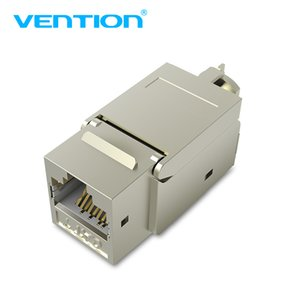 Cabos omputer Escritório Computador Connectors Vention Cat7 Ethernet conector RJ45 Modular Ethernet Cable Head plug banhado a ouro C ...