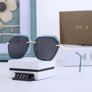 Top Brand Mens Senior Adumbral Sunglasses Designer Luxury Women Outdoor Sport Polarized Sun Glasses Goggle Metal Glasses With Box