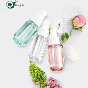 40ml 60ml transparentes PET de plástico creme de face creme de creme de garrafa de cosméticos garrafa separada garrafa máscara