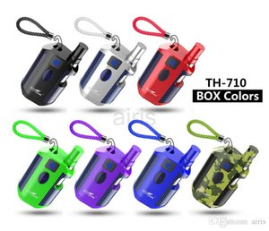 Original Kangvape TH710 Kit 650mAh Preheat VV Variable Voltage TH-710 Battery Box Mod 0.5ml Thick Oil 92a3 Cartridges