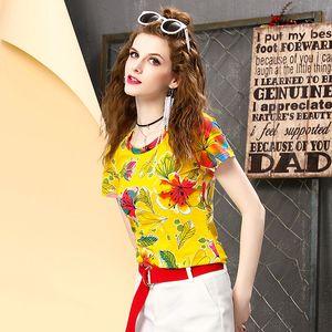 mode féminine grande taille col rond tops coton blanc femmes t-shirt blanc