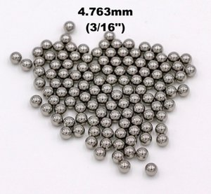 3 16'' (4.763mm) 316 Stainless Steel Ball For Bearings, Pumps and Valves, Aerosol and Sprayers, Used in Medical, Health and Beauty Aid