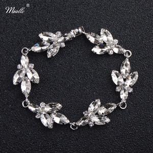 Miallo più nuovo cristallo austriaco nozze amuleti braccialetto donne regali gioielli da sposa
