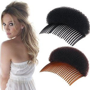 Women Fashion Hair Styling Clip Volume Boost Comb Stick Bun Maker Braid Tool