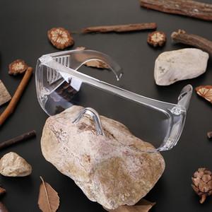 A prova de proteção óculos anti nevoeiro de poeira Proteção Óculos Óculos de olho de vidro ao ar livre à prova de respingos Impact Safety Glasses