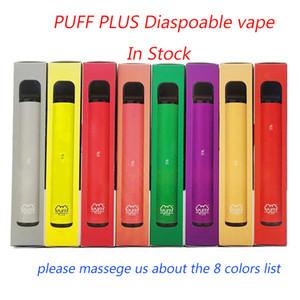 OEM SOPLO PLUS 800 + Puff desechable Pod vacíos de cigarrillos electrónicos Vape vainas palillo de soplo Bar cigarrillos e PuffBar Posh portátil vaporizador