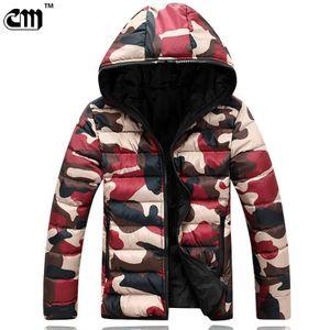 Wholesale- New Fashion Men's Jacket Spring And Autumn Warm Camouflage Jacket Men Overcoat Men's College Coat Jacket Men Casual Jackets