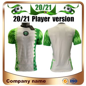 Player versión 2020 camiseta de fútbol de Nigeria Inicio 20/21 Nigeria Okechukwu Okocha Ahmed Musa MIKEL Iheanacho fútbol camisa de uniforme