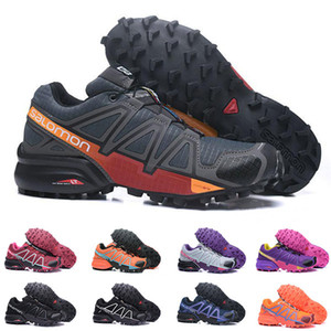 Speed ​​Cross 4 CS Trail Walking Shoes Uomo Donna Nero Rosso Speedcross Designer Casual Outdoor Escursioni Scarpe da ginnastica