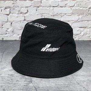 We11done dañado la letra de impresión welldone pescador marea sombrero cuenca marca