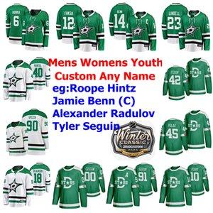 2020 Kış Klasik Dallas Stars Hockey Formalar Mattias Janmark Jersey Joe Pavelski Taylor Fedun Joel Hanley Miro Heiskanen Özel Dikişli