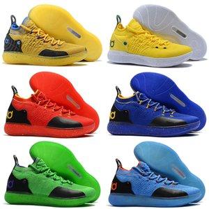 New KD 11 EP White Orange Foam Pink Paranoid Oreo ICE Basketball Kids Shoes Original Kevin XI KD11 Mens Sneakers