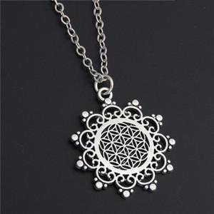 Collana con energia a sette chakra Yoga Geometria creativa Modello Strega Stregoneria Pentagramma Girocollo Collane Pendenti Regalo gioielli donna