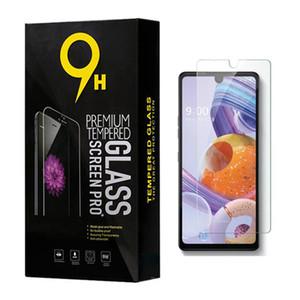 Para LG K51 Stylo 6 Aristo 4 Plus K41S Stylo 5 4 3 G6 Samsung A70 A20S protetor de tela 9H Limpar vidro temperado