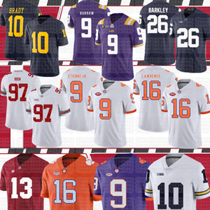 NCAA 7 Dwayne Haskins Jr 97 Nick Bosa 16 Trevor Lawrence 26 Saquon Barkley 10 Tom Brady American football