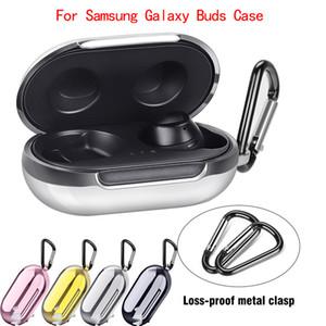 Chapeamento macios TPU para Samsung Galaxy Buds 2019 Bluetooth sem fio fone de ouvido Bag armazenamento caso Carrying tampa protetora