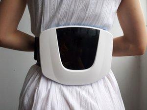 Gesundheitswesen Weiche Laser therapie LLLT 650nm Taille elektrische massagegerät zurück taille schmerzlinderung gerät kostenloser versand