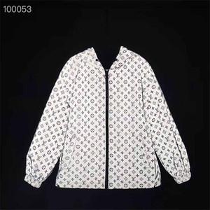 cappotto degli uomini del progettista giacca a vento a maniche lunghe di marca di lusso degli uomini di autunno cappotto di vento di marca esterna cappotto di vento casuale di disegno casuale
