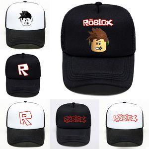 لعبة roblox الكرتون أطفال أحد قبعة بيسبول 6 أنماط الهيب هوب القبعات بوي فتاة قبعات للأطفال هدية عيد تذكارية JY514