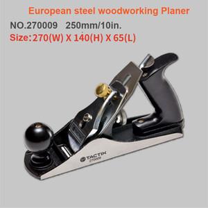 250mm European Carbon Steel Big Hand Wood Planer Leicht Operated T10-Legierung Stahlklinge Diy Holzbearbeitungswerkzeug