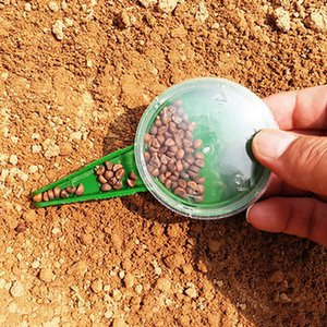 Convenience 5 Files Adjustable Seedlings Garden Tools Seed Sowing Seedlings Portable Mini Hole Puncher Garden Plant Seeder DH0780 T03
