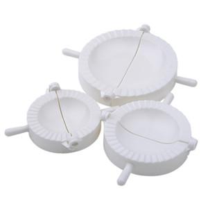Atacado- Chinese Dumplings Mold Dough Imprensa Pie Ravioli Fazer fabricantes bolinho fabricante de moldes