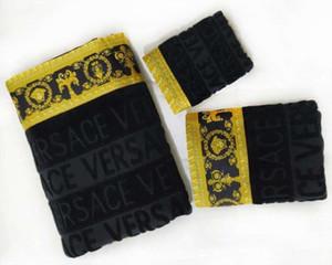 atacado Toalha de banho de 3 peças conjunto de toalhas de algodão de alta qualidade banho toalha macia bordado pano confortável quadrado quente macio 1914