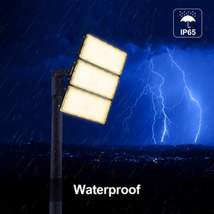 LED flood light outdoor high-brightness engineering lamp factory workshop assembly lamp 100W outdoor stadium park signboard projection lamp