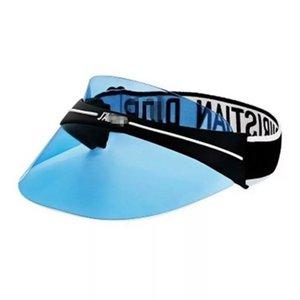 Tout nouveau épaissi chapeau de lunettes de protection uv de haute qualité pour le soleil d'été des hommes et des femmes pare-soleil réglable 52-62cm