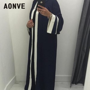 Aonve Offene Robe Musulmane Frauen Abaya Arabisch Lange Kaftan Khaki Islam-Kleidung für Damen Sweet Pink Türkei Kaftan Cardigan Abayas