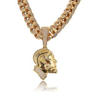 cadeia R.I.P Nipsey Hussle cubana colar de pingente com Ténis Cadeia Iced Out Bling Cubic Zirconia Brilhante Mens Hip Hop Jewelry