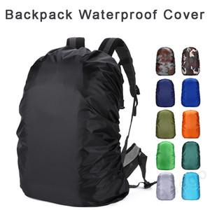 Mochila impermeable XS-XXL de protección contra agua en el viaje de camping al aire libre Senderismo Ciclismo Escuela de equipaje del bolso de polvo cubierta de la lluvia de 17 colores DBC BH2900
