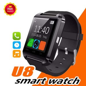 Bluetooth Smart Watch WristWatch U8 UWatch унисекс для Samsung Xiaomi Huawei S4 Note 2 Note 3 HTC LG Android смартфоны 2019 Новый