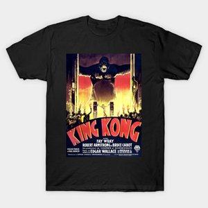 Men t-shirt King Kong Danish Poster Art by goshadron(1) tshirt Women t shirt